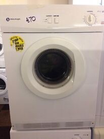 6KG WHITE KNIGHT VENTED DRYER000