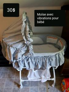Moïse vibration pour bébé unisexe