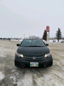 2015 Honda Civic EX Coupe - Black  (Manual)