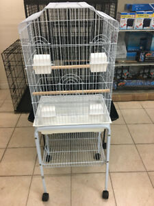 Brand new four cup bird cage on sale