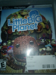 PS3 Little Big Planet game.