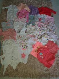 Big girls clothes bundle 3-6 months