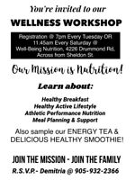 FREE Wellness Workshop!