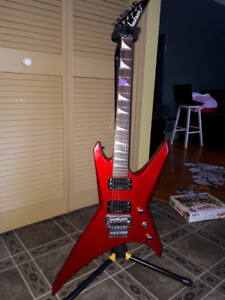 Jackson wrxt japan inferno red,tres bonne condition
