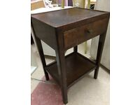 Vintage bedside cabinet/ drawers/ table. Shabby chic
