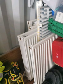 Various size radiators doubles and singles