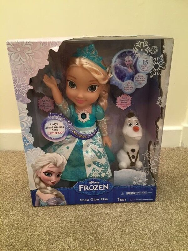 Brand new Disney Frozen Snow Glow Elsa