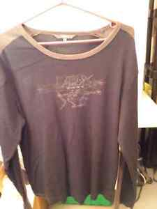 R W and Co black long sleeve shirt size xl