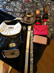 Guess purses, wallets and belts for Sale