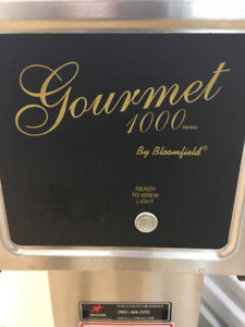 Used Bloomfield Gourmet 1000 coffee maker for sale