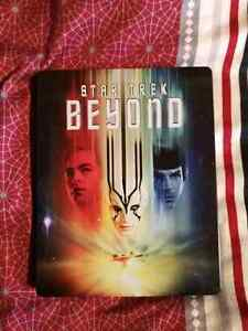Star trek Beyond exclusive steelbook with dvd and digital copy