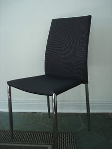 CHARCOAL GRAY CHAIRS