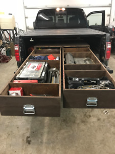 Wood Pack Rat Tool Boxes For Truck Beds