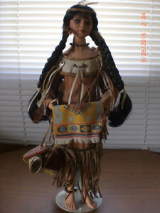 """""""Laughing Moon"""" Spirits of the Southwest Porcelain Doll"""