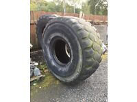 Huge tyre for weight, strength or crossfit training