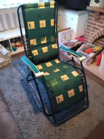 Garden chair/ lounger