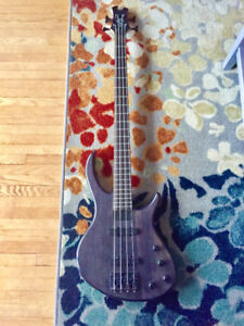 Toby Deluxe IV 4 String Bass by Epiphone - Translucent Black