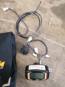 2004 ktm exc Speedo/tach and accessories