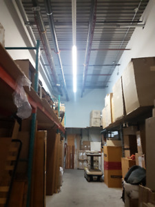 1500SF to 3000SF warehouse space