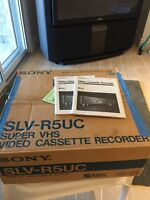 Sony super VHFvideo cassette recorder