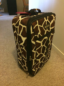 Tracker Suitcase Perfect Condition
