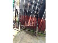 Metal garden gate metal gate