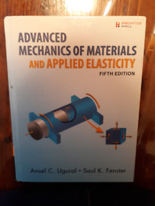 Advanced Mechanics of Materials And Applied Elasticity - 5th Edi