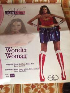 Ladies size small Wonder Woman costume