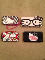 Hello kitty clutches and wallets