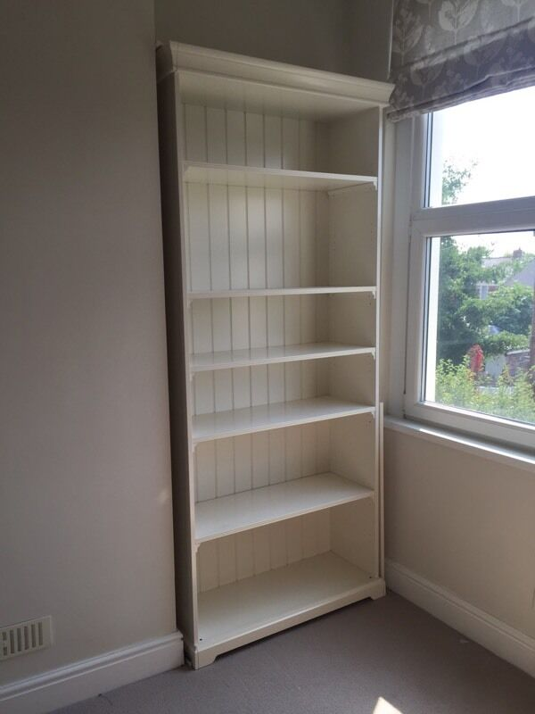 ikea liatorp bookcase white shelves in roath cardiff gumtree. Black Bedroom Furniture Sets. Home Design Ideas