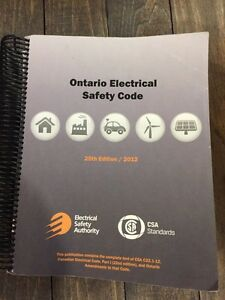 ontario electrical safety code 25th edition 2012 download