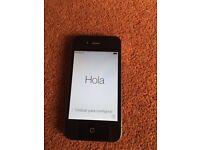 iPhone 4 black very good condition still for sale