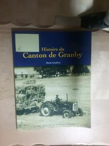 Petit livre de l'histoire du canton de Granby