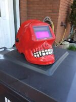 Electric Welding mask skull face