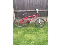 """RALEIGH IMPACT FREESTYLER 20"""" BMX bike, all good but breaks need servicing"""