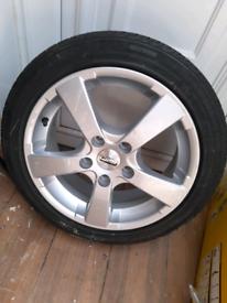 185/50/R16 Alloy Wheel & Tyre