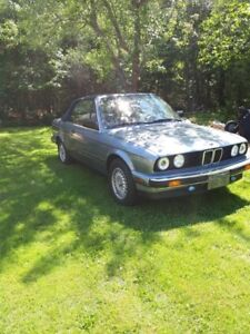 FOR SALE CLASSIC 1989 BMW CONVERTIBLE