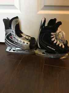 Youth Bauer skates size 8 and size 9