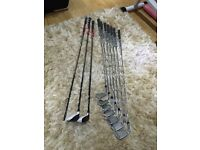 Taylormade rsi 1 irons plus 3 hybrid 3 wood