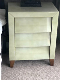 Astley Shagreen Side Tables (x2) SOLD
