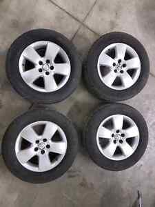 5x100 jetta golf wheels and tires