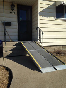 PORTABLE WHEELCHAIR RAMPS Sales & Rental
