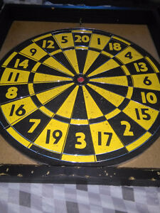 Dart board in really good condition