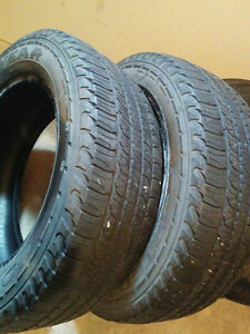 Goodyear Fortera H/L - 245/60/R18 - 65-70%Tread -Two Tires $80