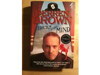 SIGNED Derren Brown Tricks of the Mind first edition first print