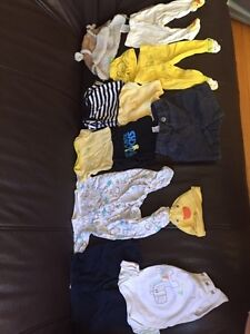 Baby boy clothing