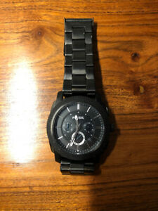 Fossil Black Watch (Machine Chronograph)