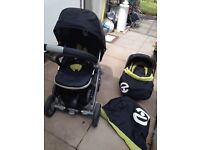 Baby oyster 2 in 1 travel system