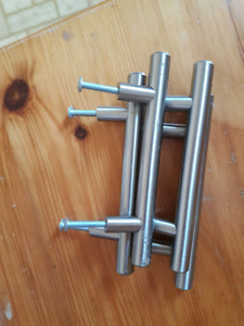 Door Handles, brushed nickel