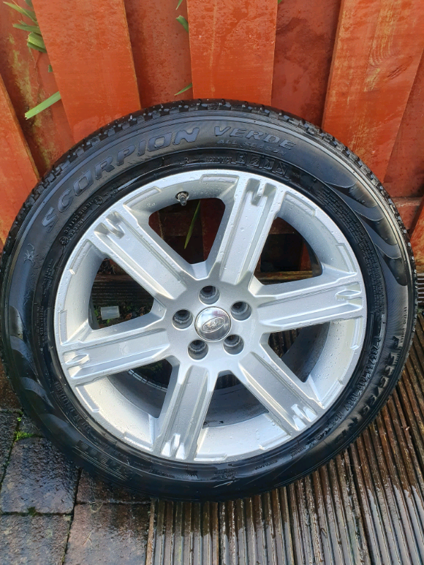 Range rover evoque 235 55 r19 wheel n tyre | in Blantyre, Glasgow | Gumtree
